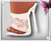 *K White desire boots