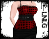 L:BBW Dress-Retro V5 DBR