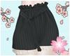 E. Princess Shorts Black