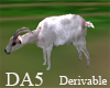 (A) Animated Goat Chair