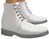 White Frill Boots