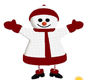 CUTE SNOWMAN POSE (KL)