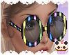 +Dots&Stripes Glasses