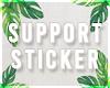 s| 3M Support Sticker