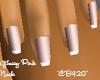 Glossy Pink Nails