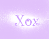 XOX White bubblegum