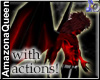 )o( Demon Red Wings