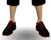 (wp) Red Kanji Shoes