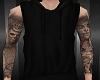 [Lean] Black Hoodie+Tatt