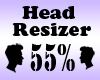Head Resizer 55%