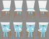 Waterfall Wedding Chairs