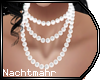 N| Neck Pearls White