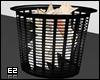 Black Waste Basket