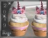Rus: Unicorn Cupcakes