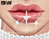Diamond Lips Piercings