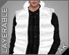 ~AK~ Ski Vest: White