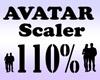 Avatar Scaler 110% / M