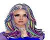 Jill Grey Rainbow Hair