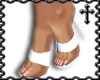 * White Strap Heels V1