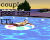 COUPLES pool ring poses