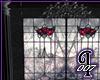 StainedGlass Roses Wall