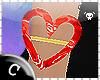 .C Ruby Heart Bracelet