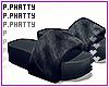 Fur Platform Slides Furn
