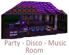Party-Disco-Music Room