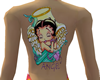 Angel Betty Back Tattoo