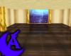 Golden Aquarium Room