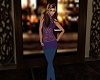 Avery Purple Jeans