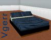 Blue No Pose Bed
