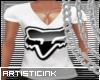 ]ART[ FOXS V-NECK