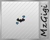 Moonlight Blue Bat-Badge
