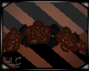 Lt Brown Rose Headdress