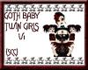 {SCC}Goth Twin Girls V1