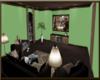 OSP Green Winter TV Room