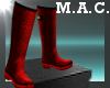 (MAC) Rainboot-Leo-Red