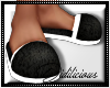 !D! PJ Slippers Black