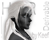 Drow Warrior Hair White