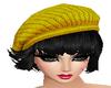 800 Short Hair Yelow Hat
