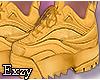Mustard Sneakers.