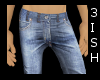 !3 Rugged Jeans