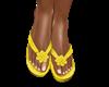 [i] Yellow sandals