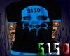 5150 Blue Skull Shirt