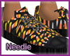 Candy Corn Sneakers