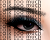 talk too much