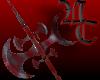 bloody battle axe