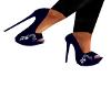 [Aly] Blue High Heels