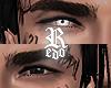 b/w 2T eyes